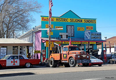 Seligman Sundries On Historic Route 66 Poster