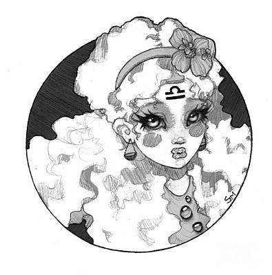 Sembabyface Libra Poster by Sarah Mills