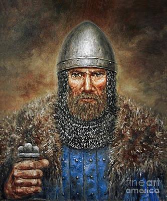 Semigalian Chieftain Poster