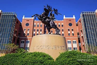 Seminoles Unconquered Poster