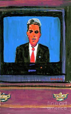 Senator John Kerry Poster by Candace Lovely