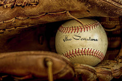 Senators Baseball Poster by Francis Sullivan