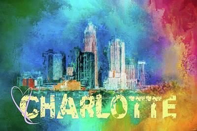 Sending Love To Charlotte Poster by Jai Johnson
