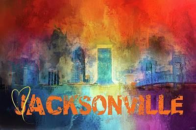 Sending Love To Jacksonville Poster