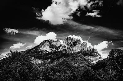 Poster featuring the photograph Seneca Rocks II by Shane Holsclaw