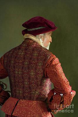 Poster featuring the photograph Senior Tudor Man by Lee Avison