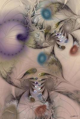 Sensorial Acquiescence Poster by Casey Kotas