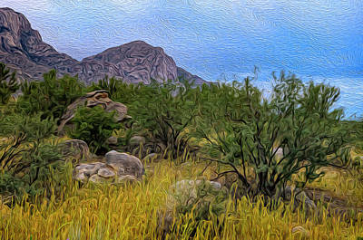 Poster featuring the photograph September Oasis No.2 by Mark Myhaver