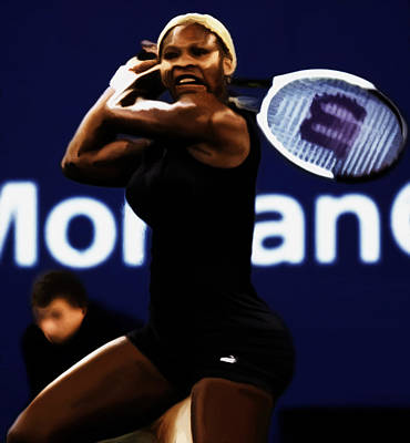 Serena Williams Catsuit 03b Poster
