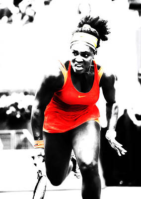 Serena Williams Go Get It Poster
