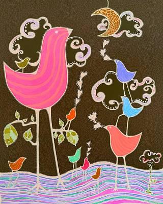 Serenata 3 Poster by Sandra Perez-Ramos
