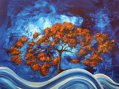 Serendipitous Original Madart Painting Poster by Megan Duncanson