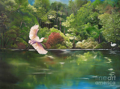 Serenity Poster by Carol Sweetwood