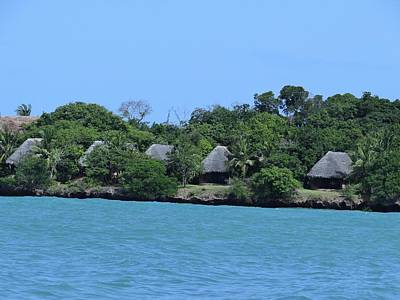 Serenity - Chale Island Kenya Africa Poster