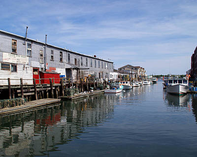 Poster featuring the photograph Serenity Of The Harbor by Lynda Lehmann