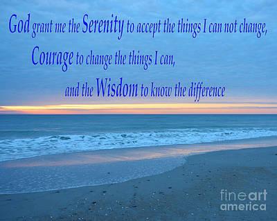 Serenity Prayer-1 Poster