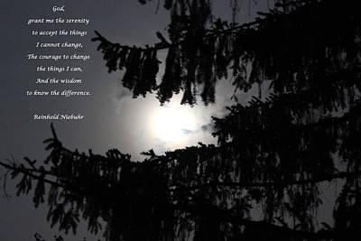 Serenity Prayer Poster by Cliff Ball