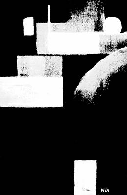 Seriously Black And White Poster