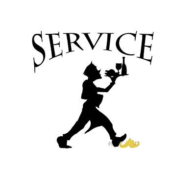 Service Poster by Jam