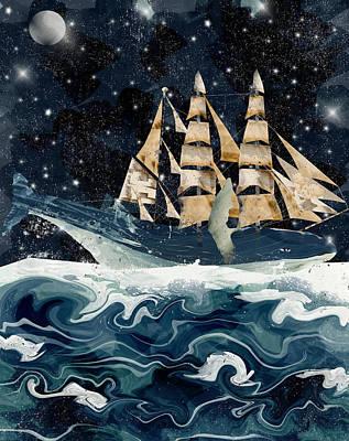 Setting Sails Poster by Bri B