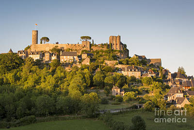 Setting Sunlight Over Turenne Poster