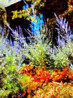 Settlers Inn Garden Reflections Poster