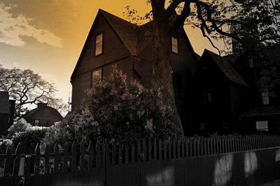 Poster featuring the photograph Seven Gables by Laura DAddona