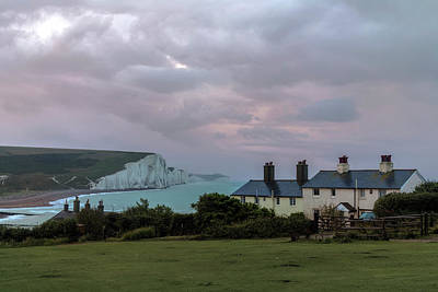 Seven Sisters Dawn  - England Poster