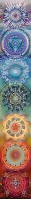 Seven, The Chakras Poster by Brenda Erickson