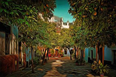 Seville Oranges Poster by Anton Kalinichev