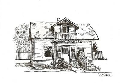 Sexsmith House Poster by Rick Stoesz