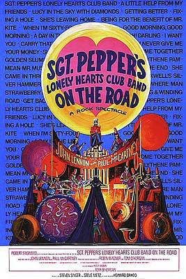 Sgt. Pepper's Poster Poster by Howard Dando