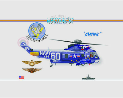 Sh-3a Seaking From Hs-2 Poster