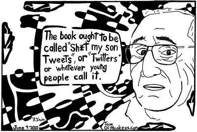 Sh T My Son Calls A Maze By Yonatan Frimer Poster