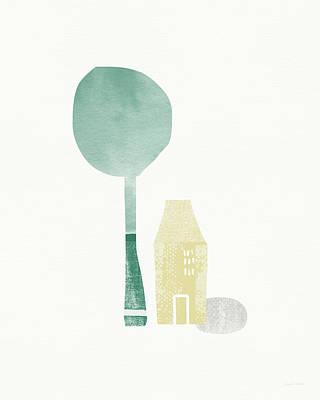 Shade Tree- Art By Linda Woods Poster