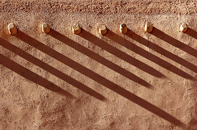Poster featuring the photograph Shadow Beams by Nicholas Blackwell