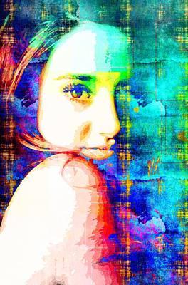 Shailene Woodley Poster by Svelby Art
