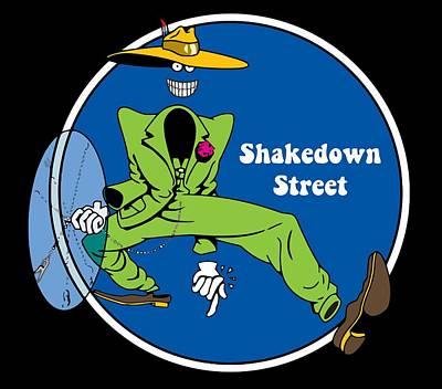 Shakedown Street Poster by Eran Habusha