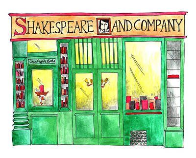 Shakespeare And Company Poster