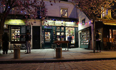 Poster featuring the photograph Shakespeare Book Shop 1 by Andrew Fare