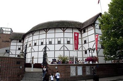 Shakespeare's Globe Theater Poster