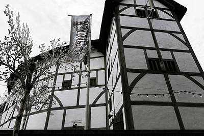 Shakespeare's Globe Theatre Poster by Georgia Fowler