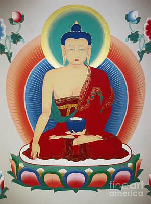 Shakyamuni Buddha  Poster by Sergey Noskov