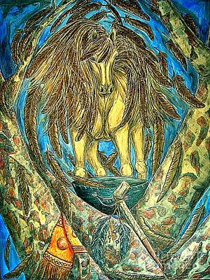 Shaman Spirit Poster
