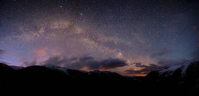 Shames Milky Way Poster