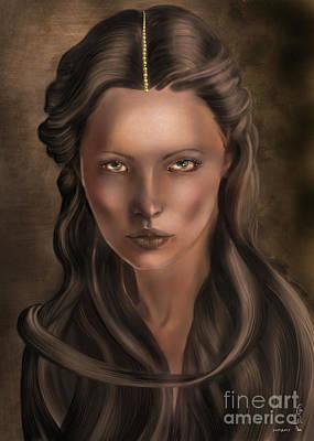 She... Lilit... Poster by Gabriela Tasiro