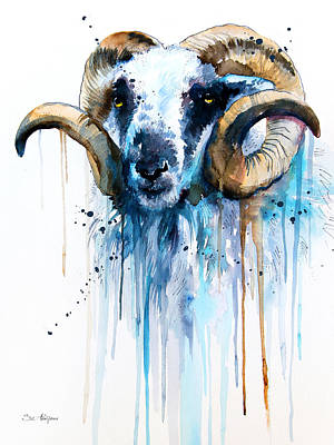 Sheep Poster by Slavi Aladjova