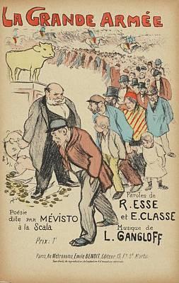 Sheet Music La Grande Poster