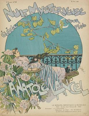 Sheet Music Nuit Mysterieuse Poster