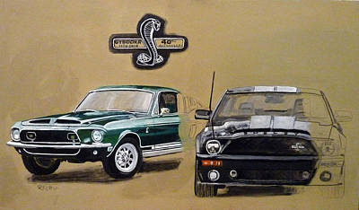 Shelby 40th Anniversary Poster
